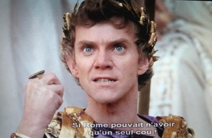 Малкольм МакДауэлл в роли Калигулы, 1979 | Фото: ffffilm.com
