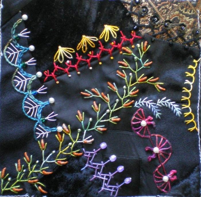 Три оригинальных  варианта оформления декоративных швов