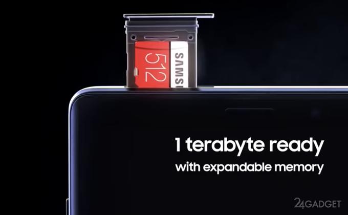Samsung продаёт microSD на 512 ГБ по цене смартфона