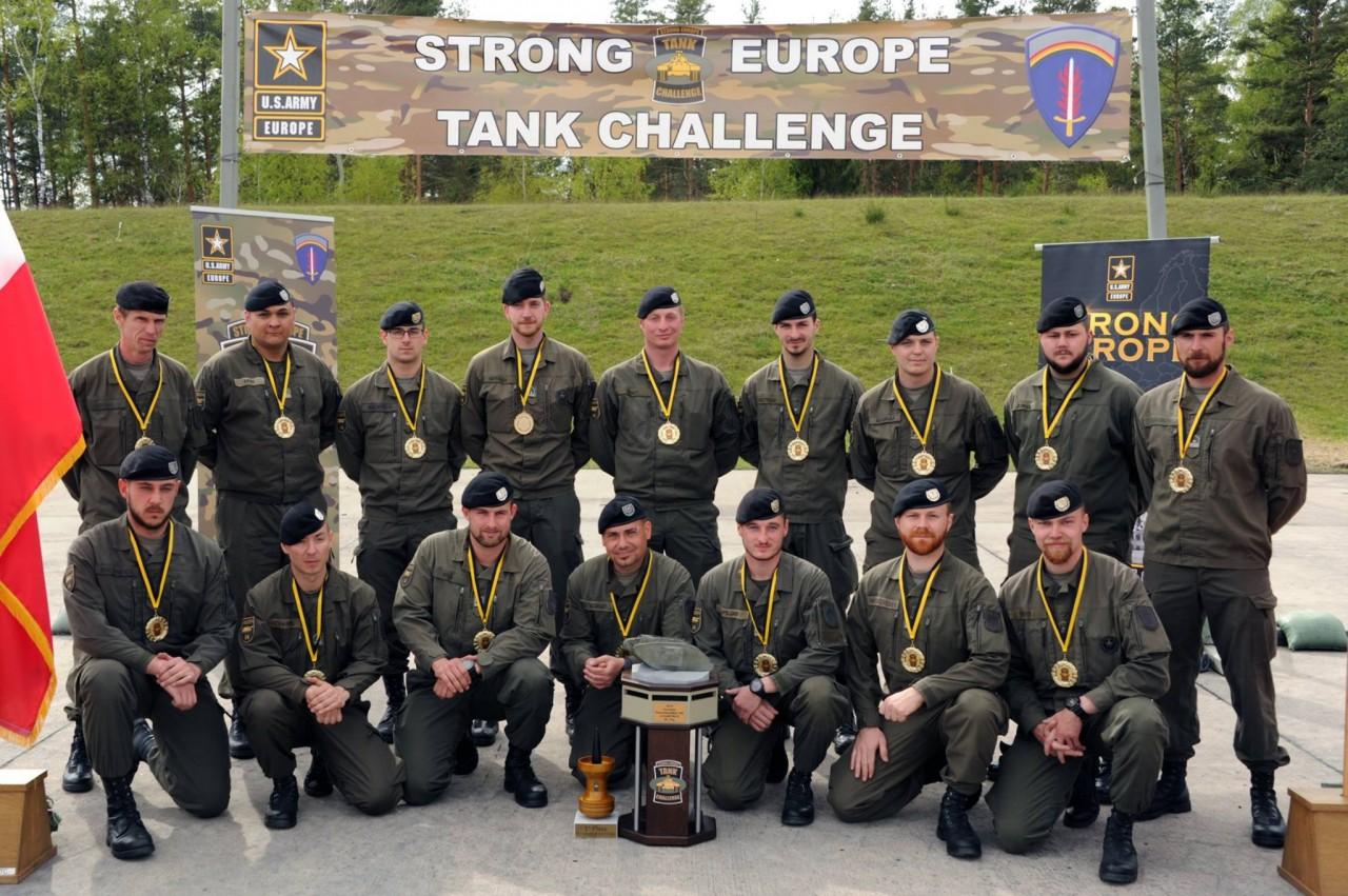 Украинская команда заняла предпоследнее место на европейских танковых соревнованиях