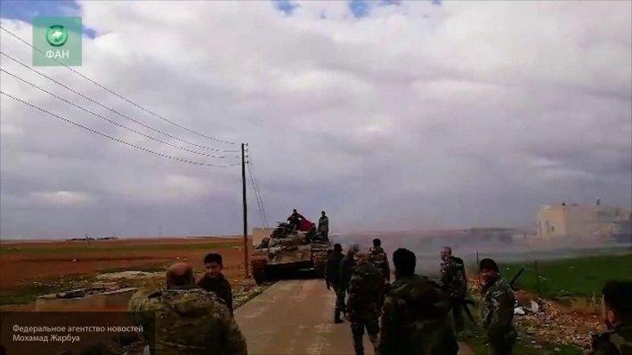 Боевики ССА пресекают прорыв курдов, турки бьются с SDF на севере Алеппо