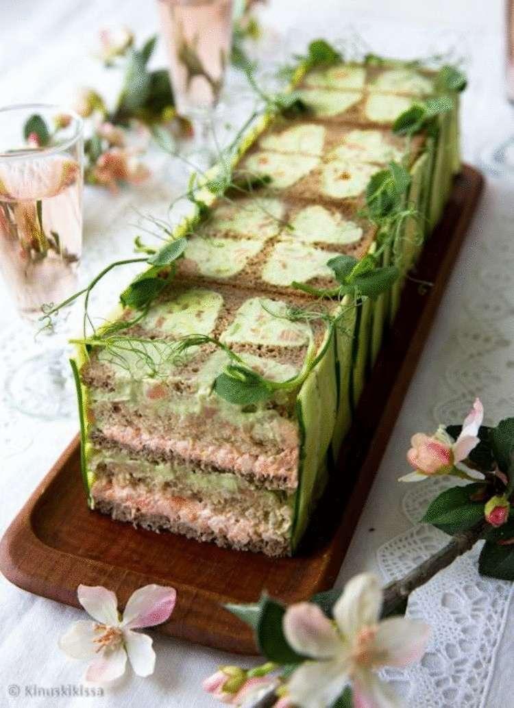 РЕЦЕПТ НА ВЫХОДНЫЕ. Бутербродный торт