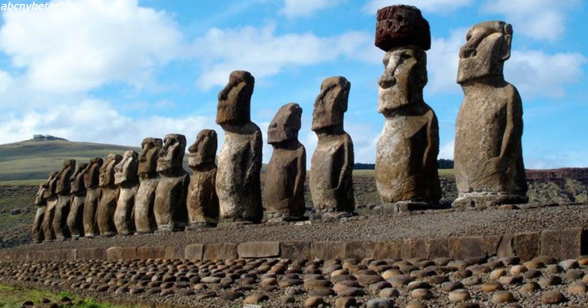 Под головами на острове Пасхи продолжили рыть - и обнаружили нечто большее!