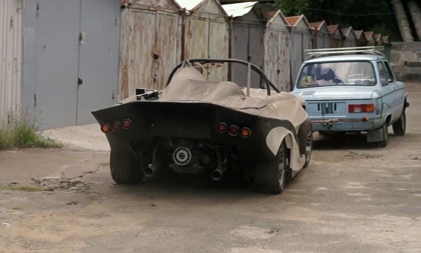 В киевском гараже обнаружили уникальный гоночный «Запорожец», простоявший там много лет авто и мото,автоновости