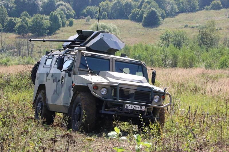 """Новый бронеавтомобиль """"Тигр-2"""" покажут весной 2019 года"""