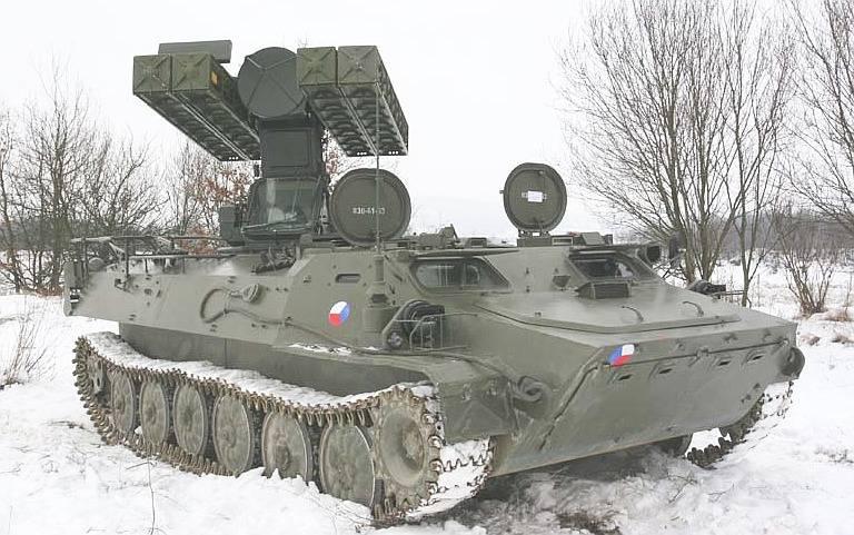 Современное состояние системы ПВО Чехии: модернизация на фоне обвального сокращения