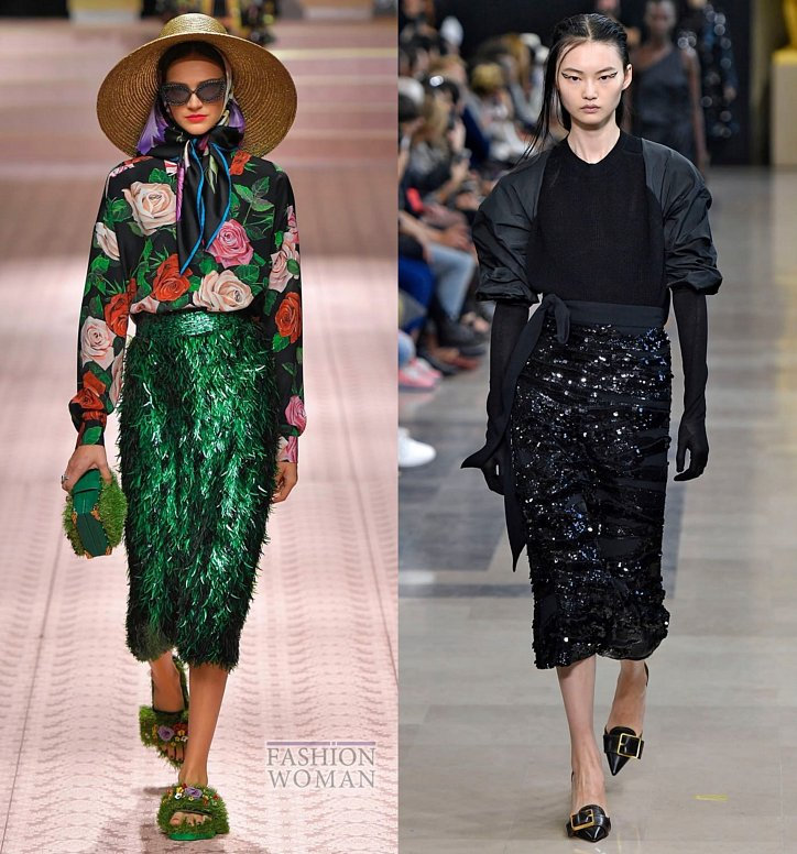 Модные юбки весна-лето 2019 фото №61