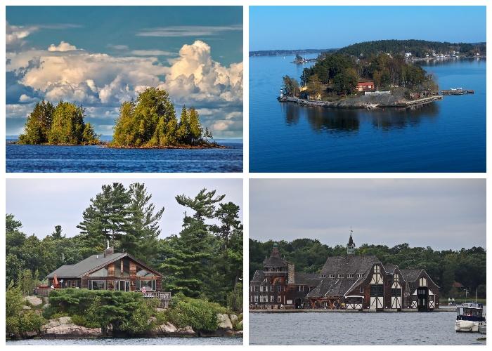 «Тысяча островов» – уникальная группа островов на реке Св. Лаврентия. | Фото: montrealex.livejournal.com.