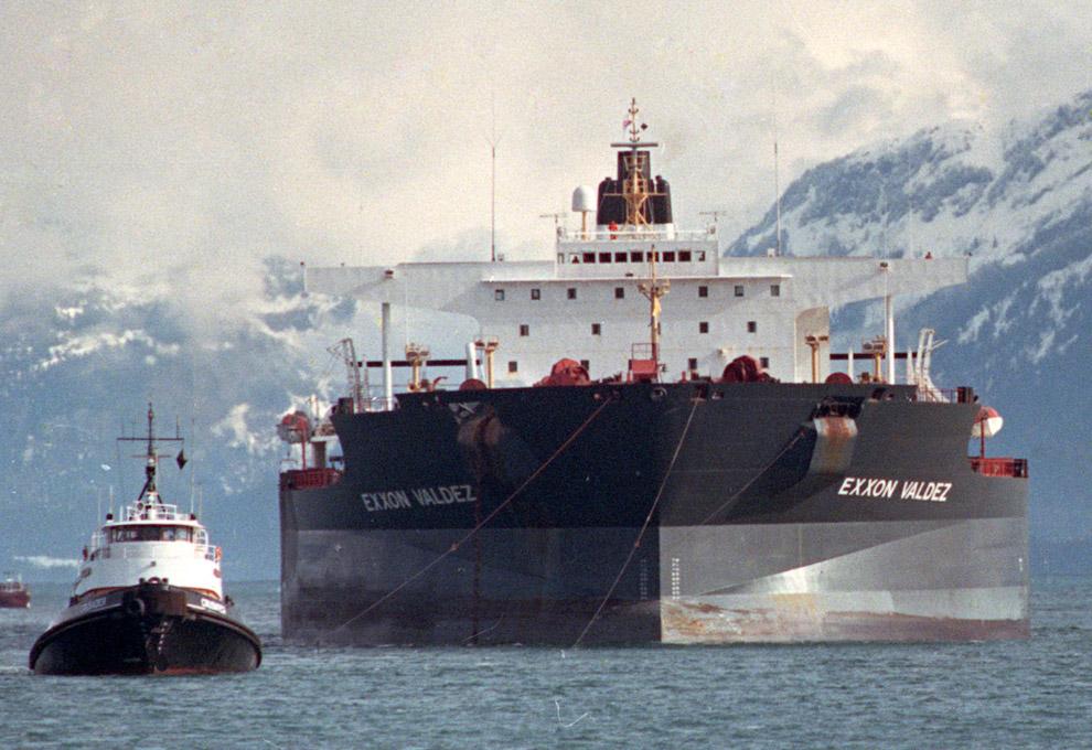 Авария танкера компании Exxon «Эксон Вальдес»