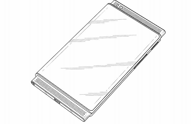 В Samsung придуман гибрид смартфона и планшета с гибким дисплеем