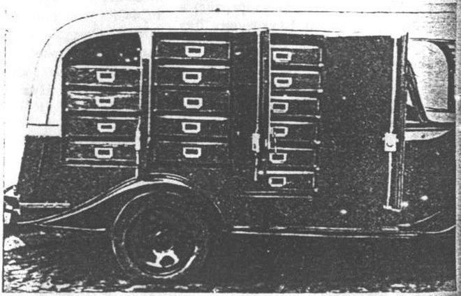 Хлебный фургон с автоматической подачей лотков СССР, авто, автомобили, автофургон, грузовик, ретро техника, фургон, хлеб