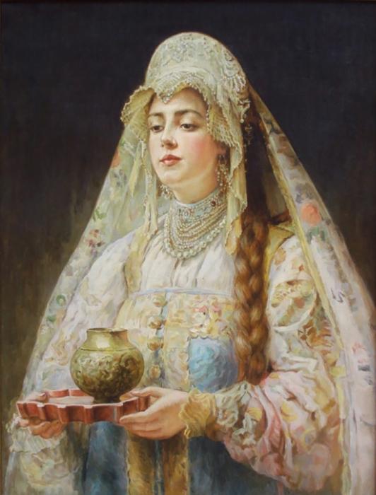 20 портретов русских красавиц кисти известных художников