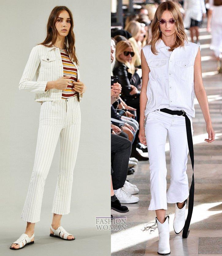Модные джинсы весна-лето 2019 фото №21