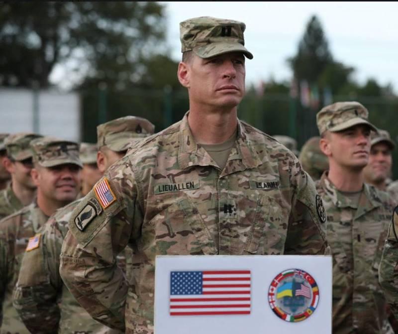 Строевые приёмы в американской армии