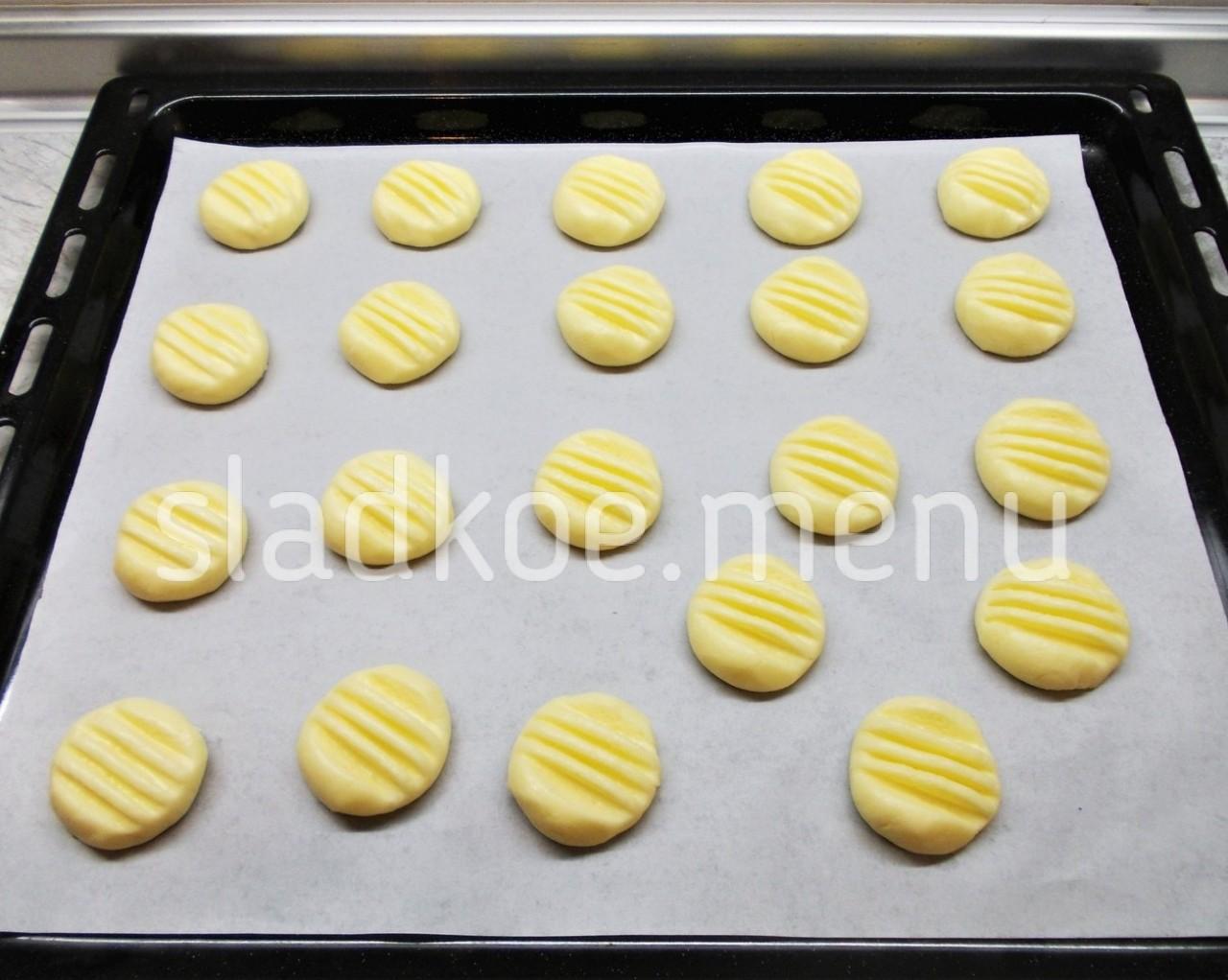 3.формируем печенье
