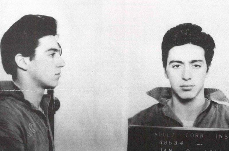 Аль Пачино. Арест 9 января 1961 года. Незаконное хранение оружия. арест, звезды, полиция, правонарушение