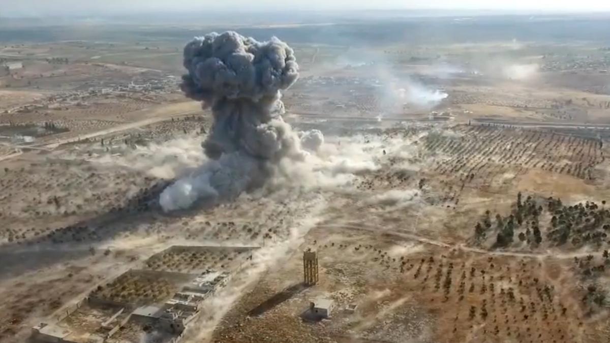 Алеппо. Землятресение