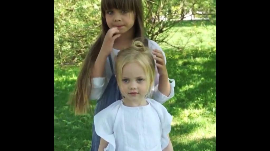 4-летняя Виолетта Антонова: кто -дышит в спину- самой красивой девочке Насте Князевой