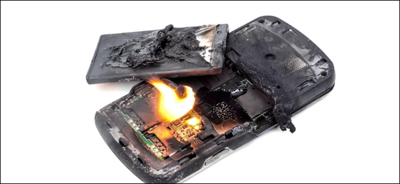 Как избежать взрыва Li-Ion аккумулятора: советы от Роскачества гаджеты,советы