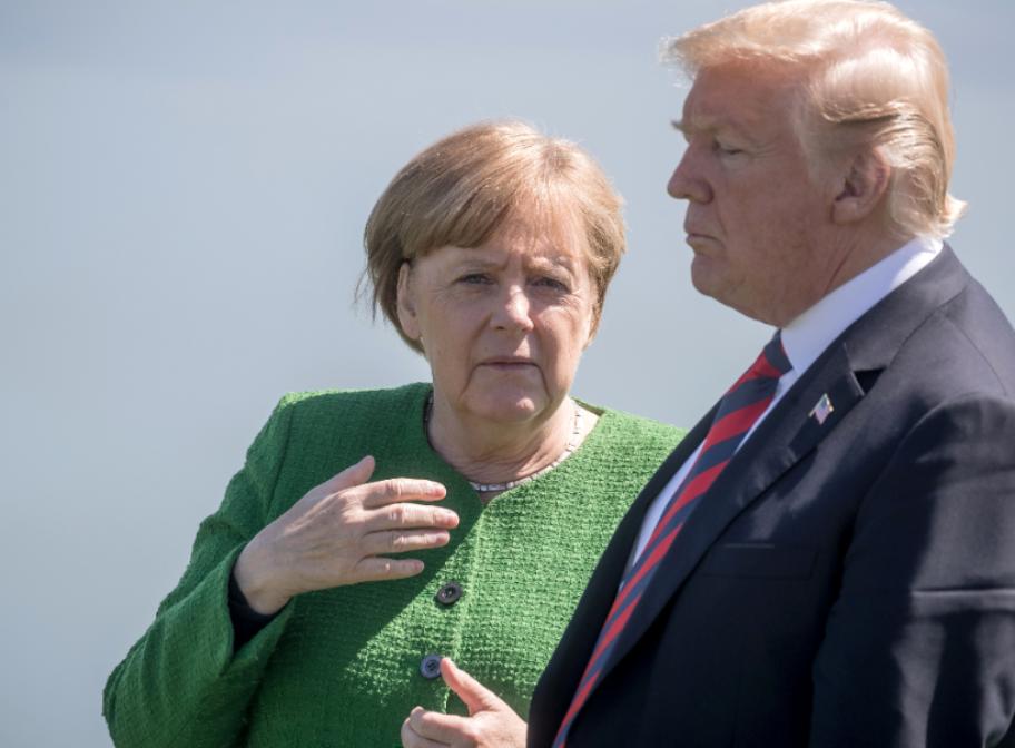 СМИ рассказали о скандале с участием Трампа и Меркель на саммите G7