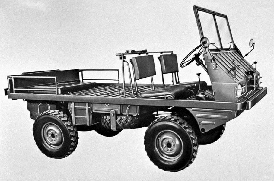 Pinzgauer: автомобиль, который может все автомобили,водители