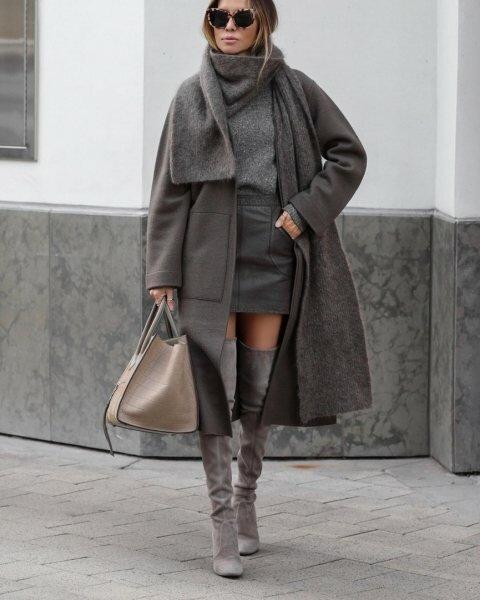 7 способов носить серое пальто так, чтобы ловить восхищенные взгляды