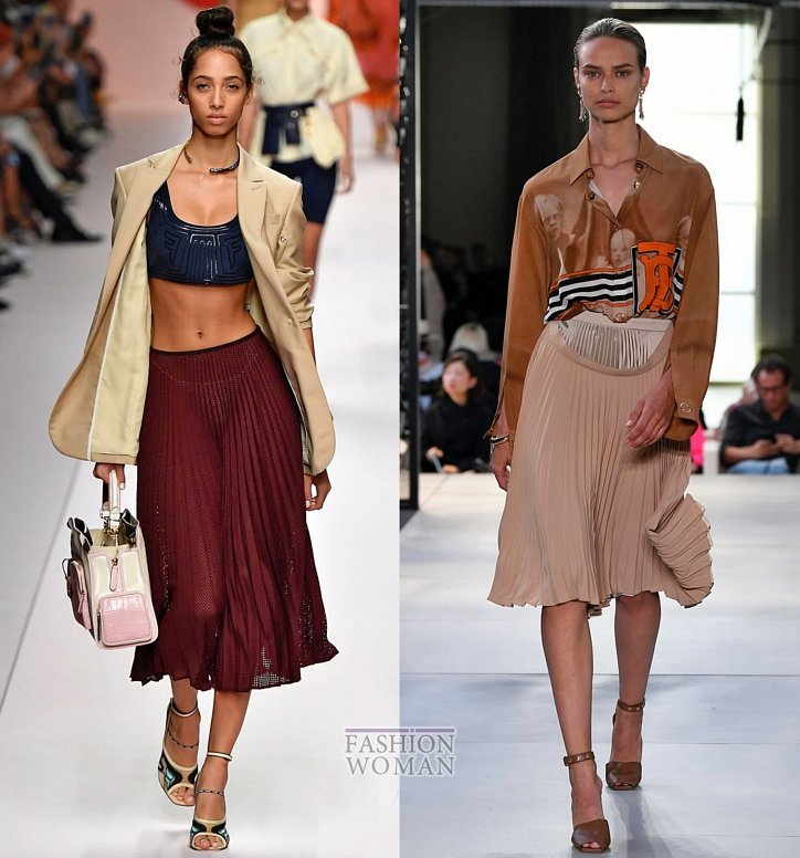Модные юбки весна-лето 2019 фото №40