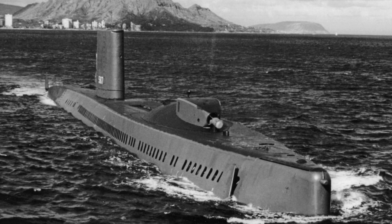 <p>Подлодка USS Halibut</p>