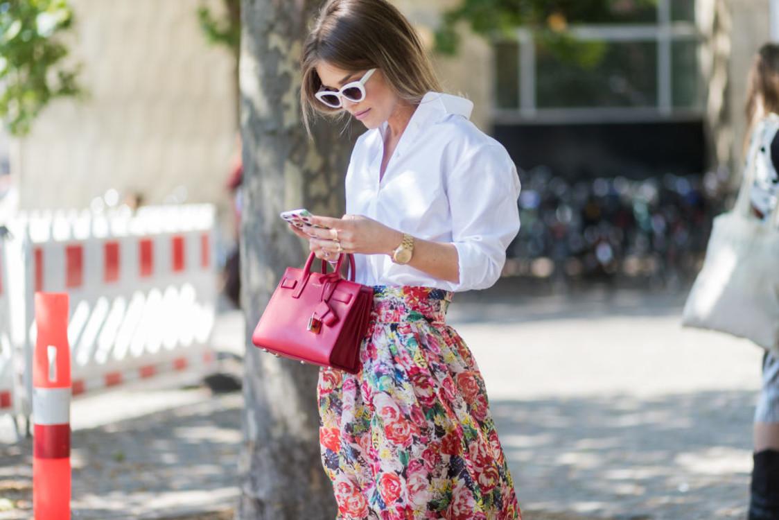 Streetstyle: 10 цветочных принтов на улицах Копенгагена