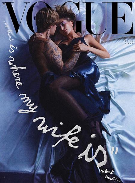 Джастин и Хейли Бибер появились на обложке Vogue и дали интервью о своих отношениях Звезды,Звездные пары