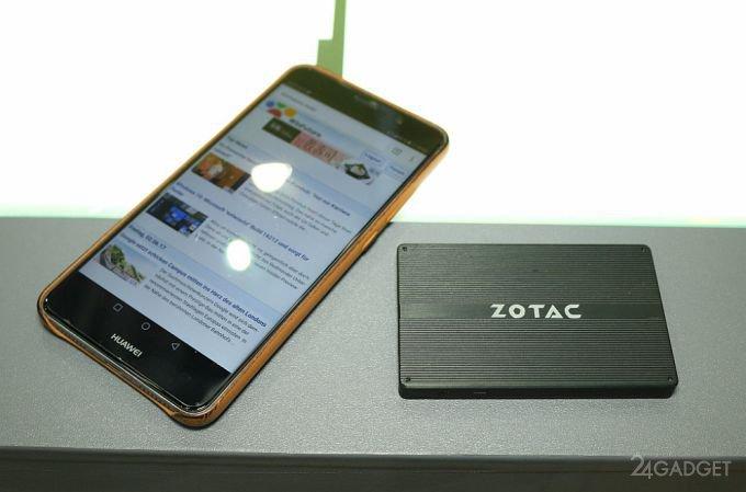 Миниатюрный компьютер ZOTAC Z Box PI225