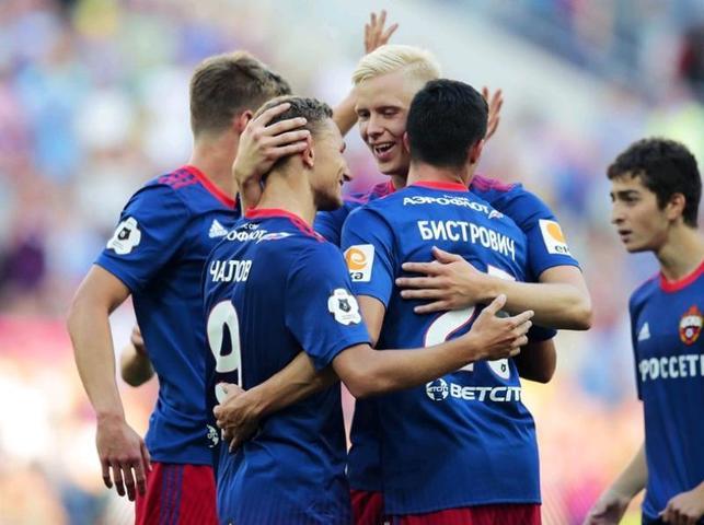 Московский ЦСКА одержал победу над тульским «Арсеналом»