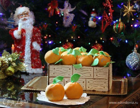 Торт «Ящик с апельсинами»