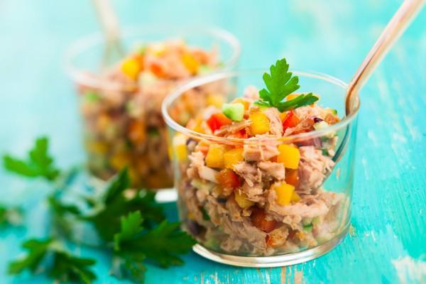 Идея для лёгкого ужина или обеда — салат «Красный»