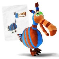 Детские рисунки, которые превратили в настоящие мягкие игрушки