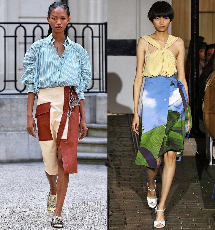 Модные юбки весна-лето 2019 фото №20