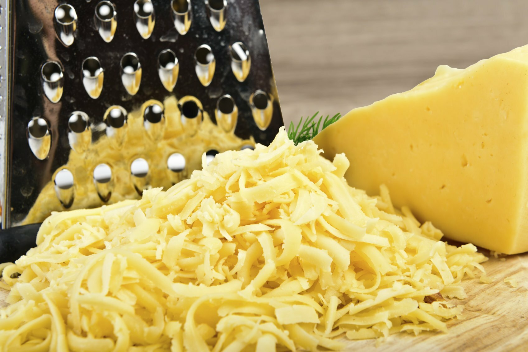 сыр тру на терке.