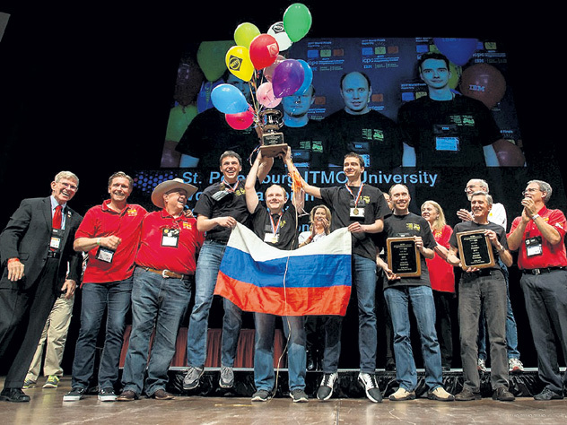 Российские студенты стали чемпионами мира по спортивному программированию