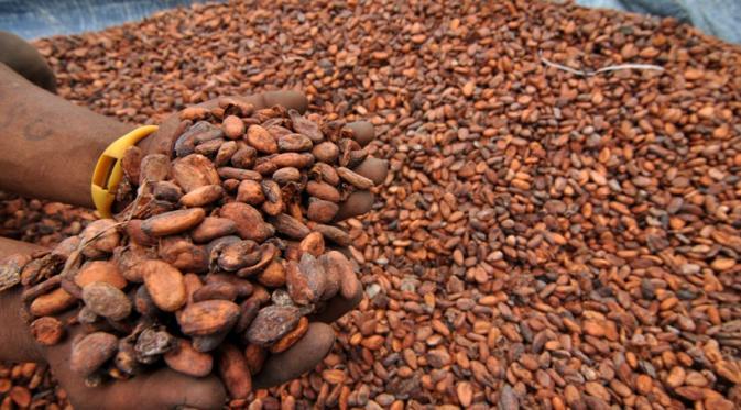 Русский и какао из Африки