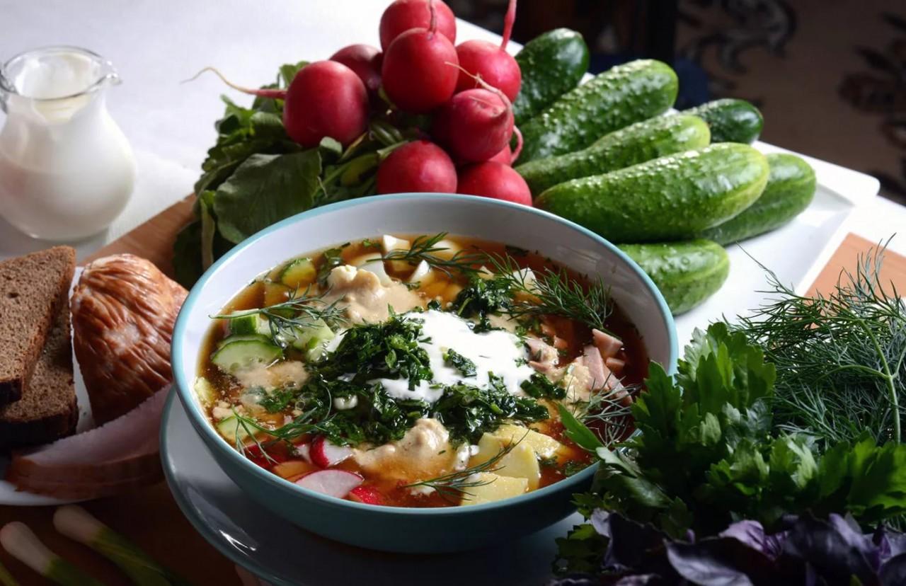 Июль - вершина лета! Рецепты холодных супов с нашего сайта.
