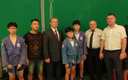 Южнокорейские парни поделились впечатлениями о турнире «Кубок двух морей»
