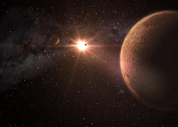 Астрономы нашли систему с тр…