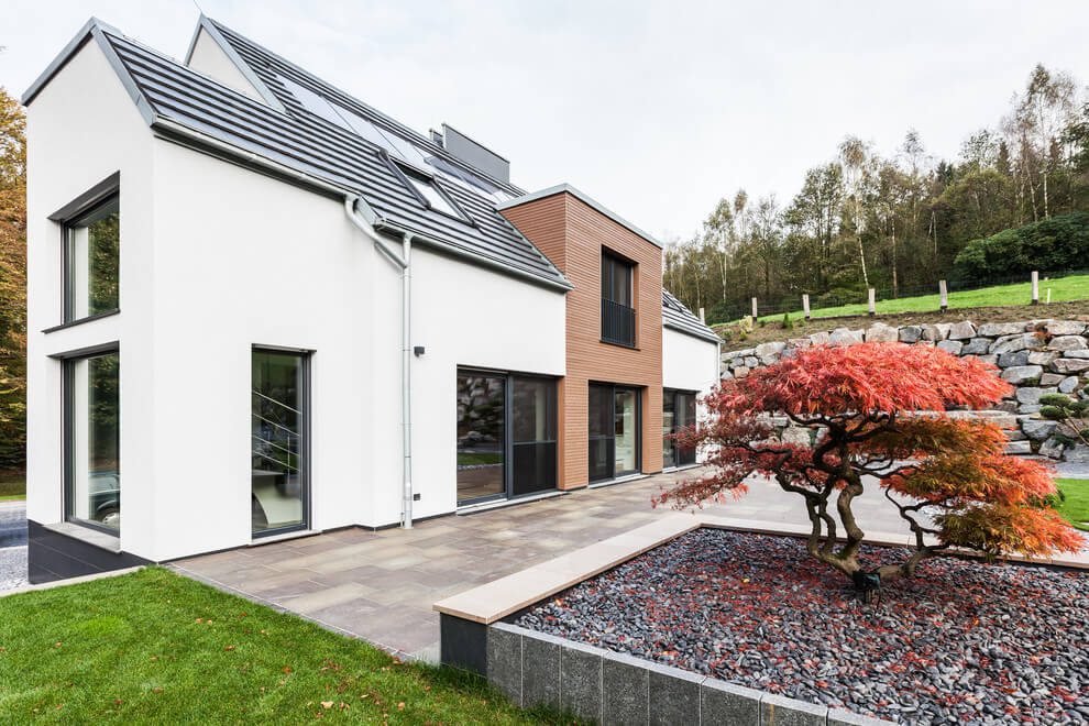 Современный дом в Германии от ONE!CONTACT