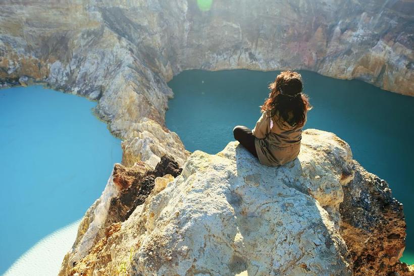 Цветные озера вулкана Келимуту: чудо природы индонезийского острова Флорес