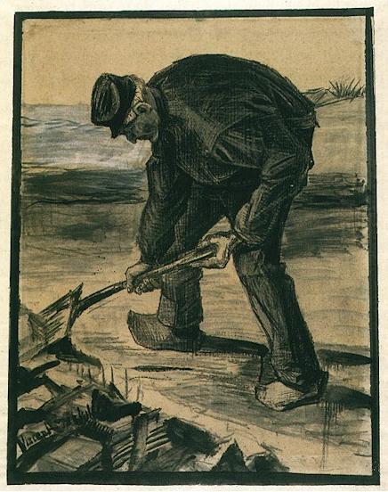 Графика Ван Гога.
