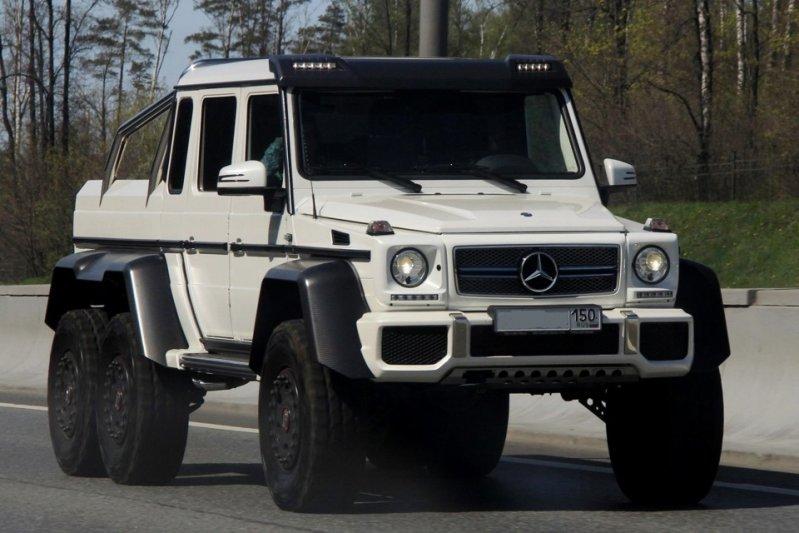 """Четвертый автомобиль белого цвета """"Белый мистик"""" находился в Казани, а потом перебрался в Москву. 6x6, amg, g63, gelandewagen, mercedes-benz"""