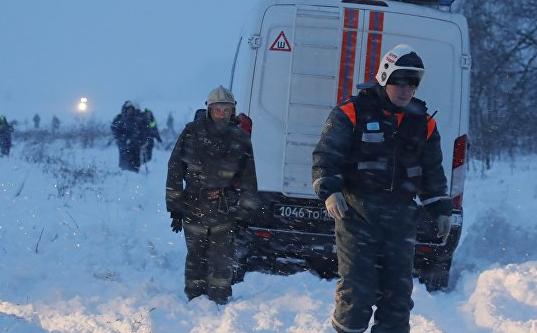 При крушении Ан-148 погибли трое детей