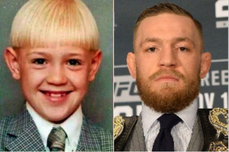 Как выглядели профессиональные спортсмены в детстве