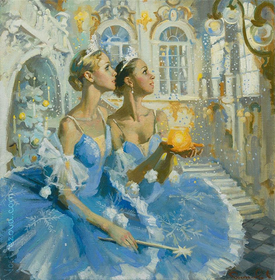 Волшебный мир искусства во взгляде художников