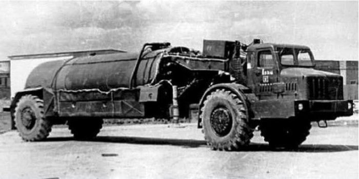 Самые необычные МАЗы Вооружение и военные технологии России
